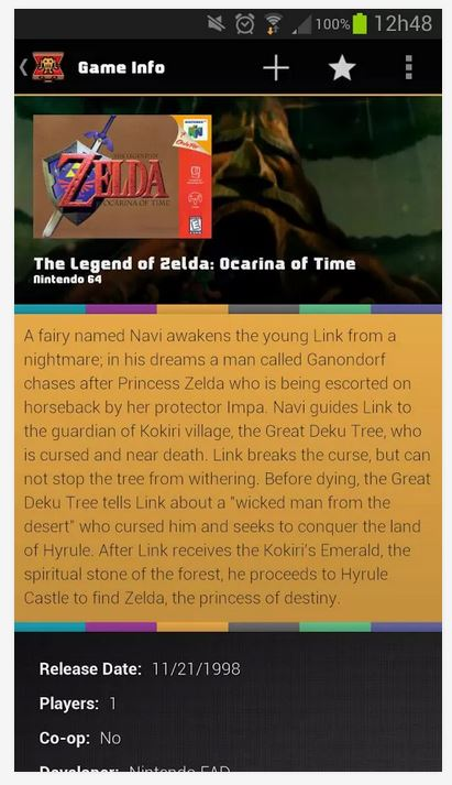 Game Keeper LT Zelda description