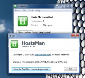 HostsMan about