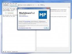 MarkdownPad about