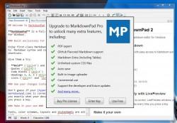 MarkdownPad upgrade to pro