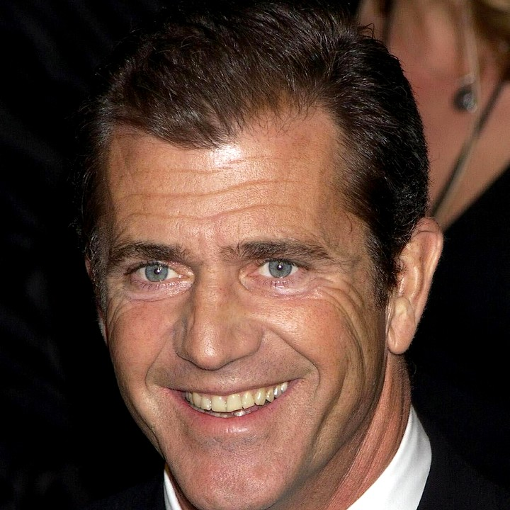 Mel Gibson who was arrested early today on suspicion of driving under the influence in Malibu