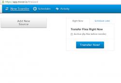 Mover Transfer Files
