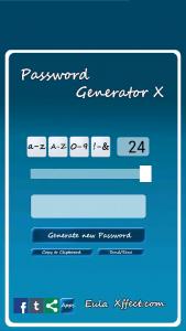 Password Generator X 24