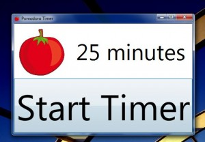 Pomodoro Timer start session