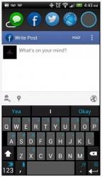 Portal Facebook window