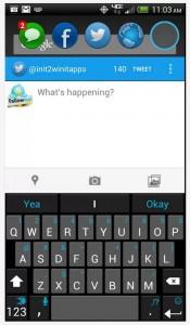 Portal Twitter window