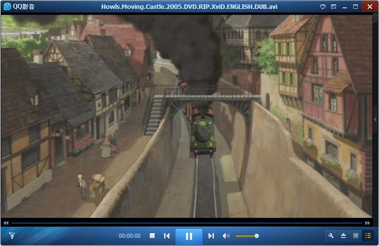 QQ Player Movie Playback