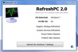 RefreshPC UI