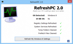 RefreshPC Windows 8