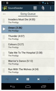 SoundSeeder playlist