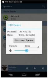SoundSeeder speaker management