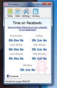 TimeRabbit total stats