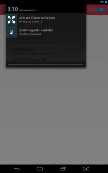 Ultimate Dynamic Navbar notification