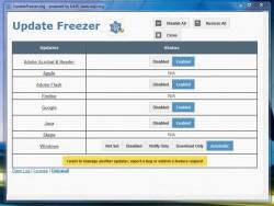 Update Freezer UI
