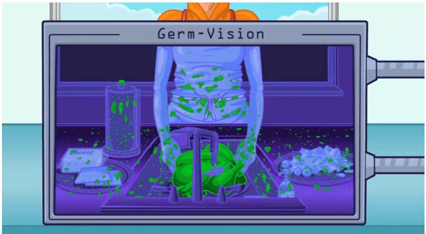 chicken germ vision