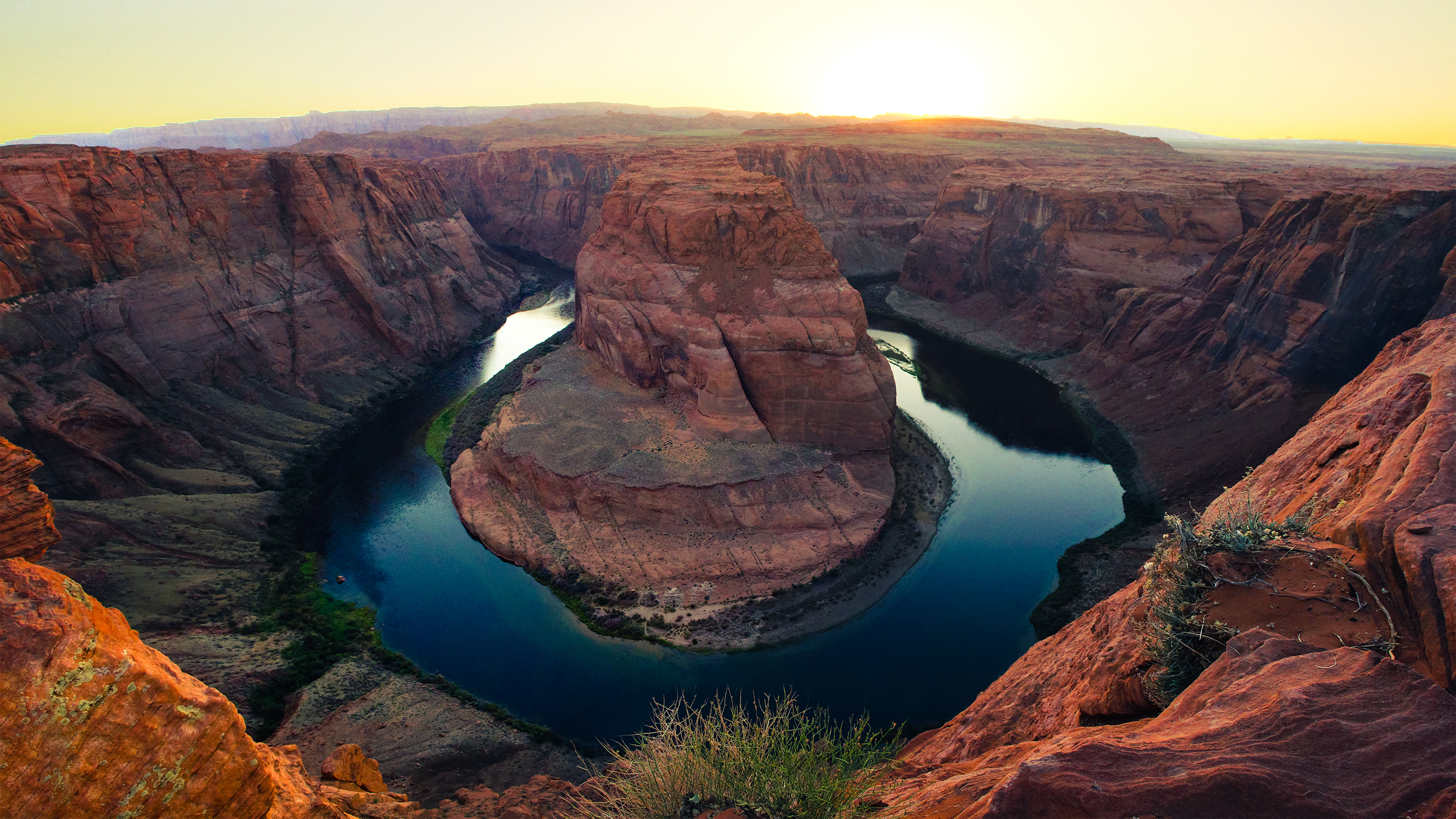 horseshoe_bend_sunset_2560x1440