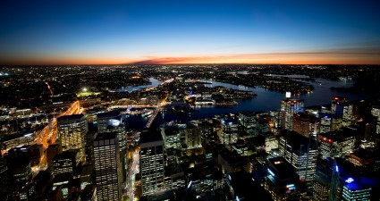 nightfall_in_sydney_2560x1440