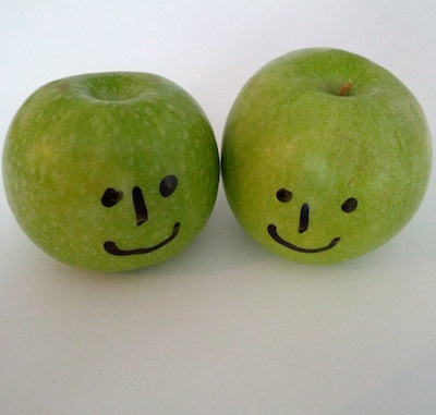 two-apples