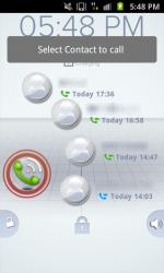 Active Lockscreen Quick Dial Button