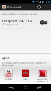 CheapCast connect