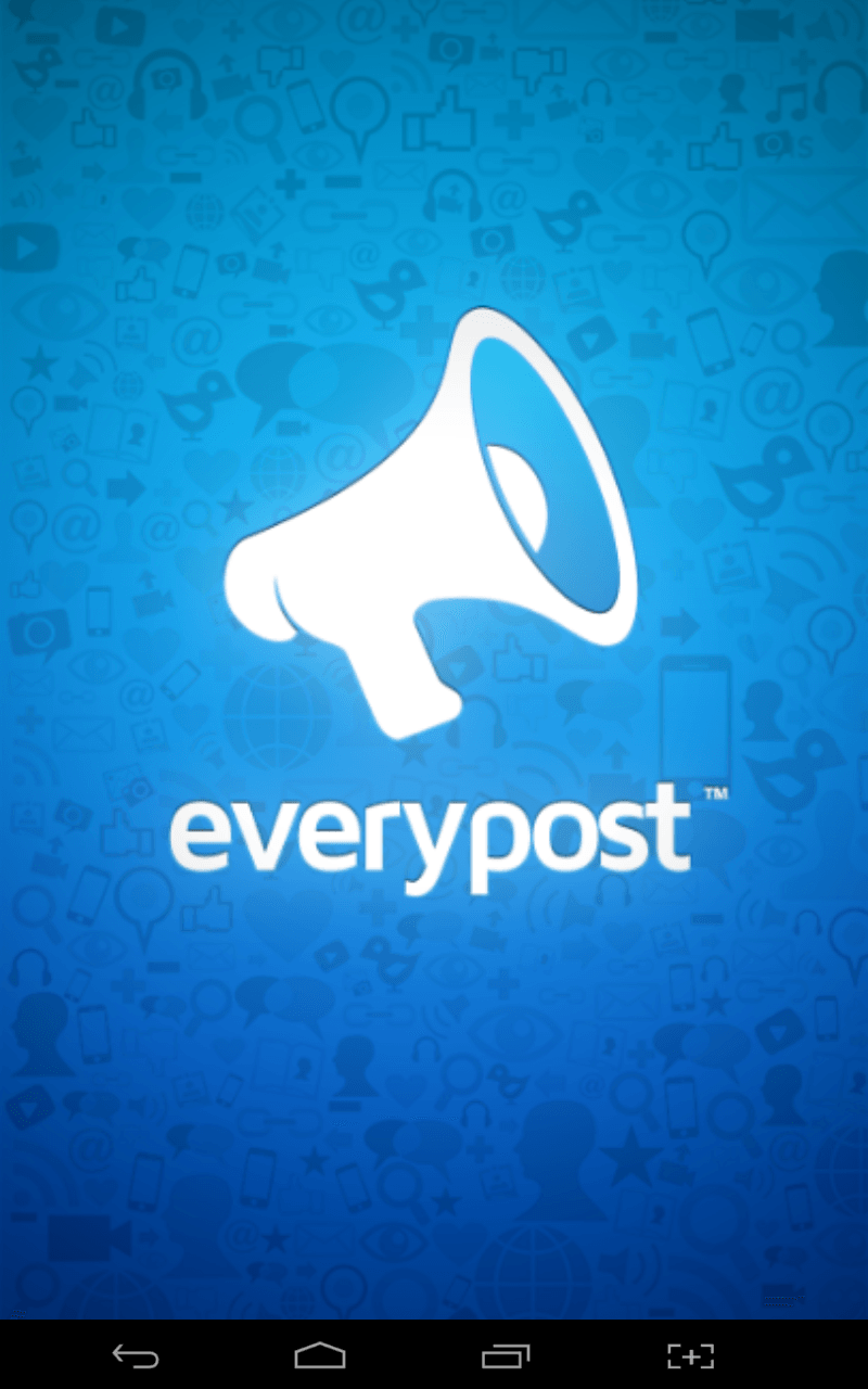 Everypost splash