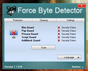 Force Byte Detector UI