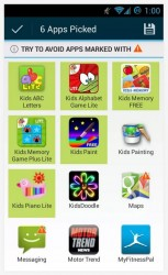 Kids Zone App Lock choose apps