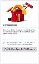 Kids Zone App Lock chore mode