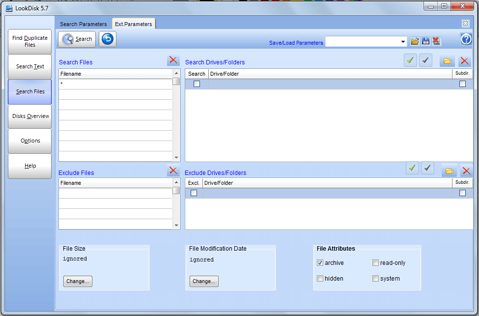 LookDisk File Search Software