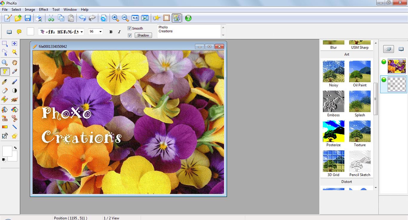 PhoXo Free Image Editor