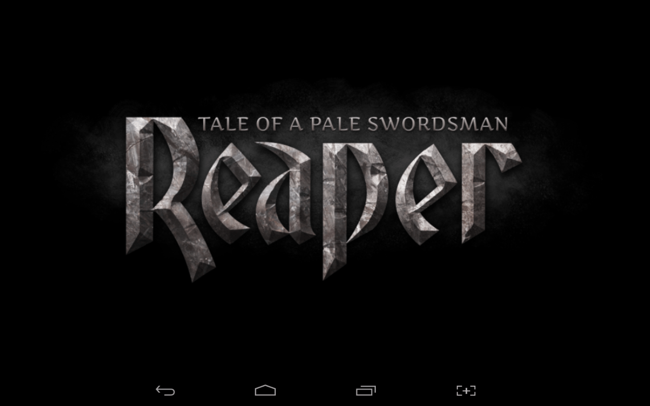 Reaper Title screen