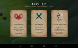 Reaper level up tarot cards