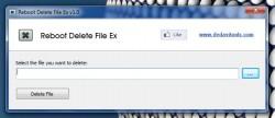 Reboot Delete File Ex UI