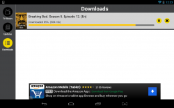 Show Box downloads page