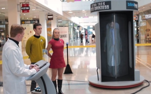 Star Trek teleporter
