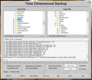TimeDim Backup