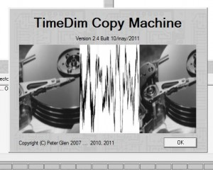 TimeDim about splash