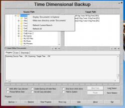 TimeDim right click context menu