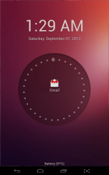 Ubuntu Lockscreen Gmail notification