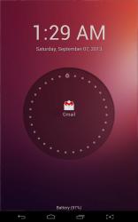 Ubuntu Lockscreen Gmail notification