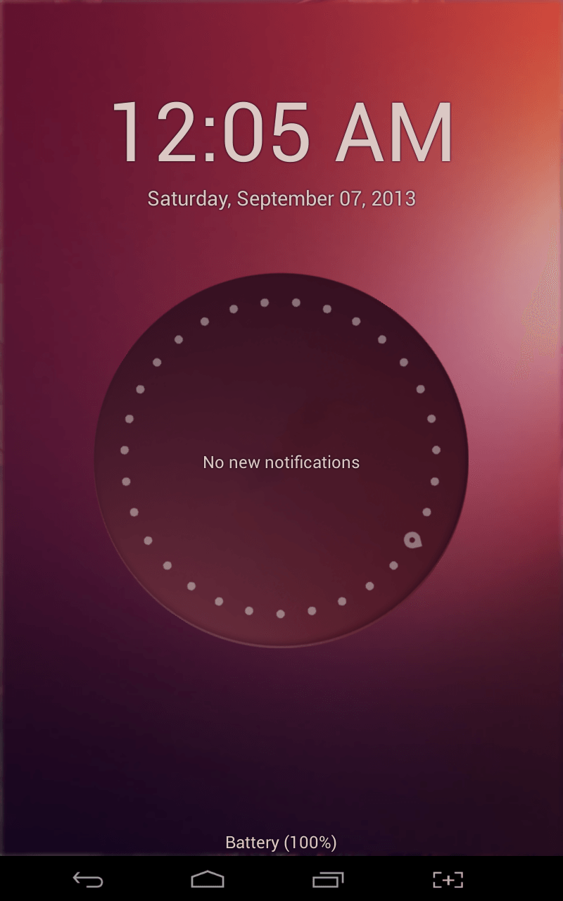 Ubuntu Lockscreen