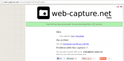 Web Capture screenshot