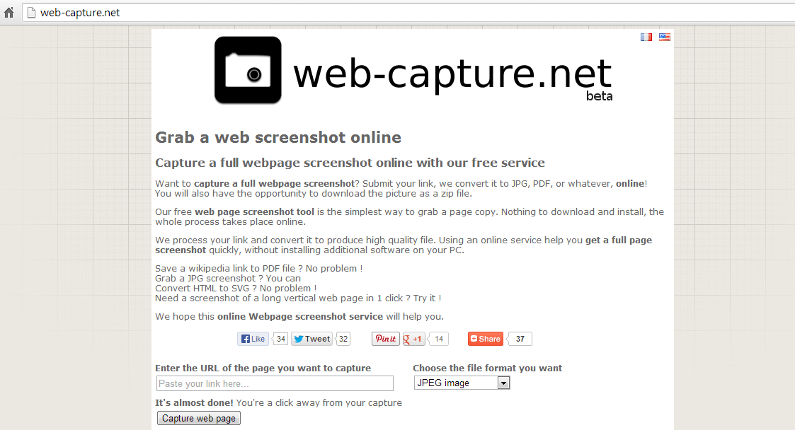 Web Capture