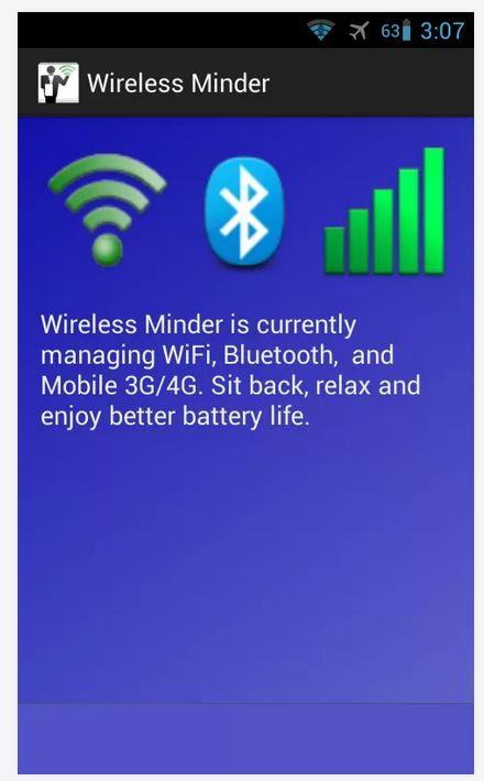 Wireless Minder UI