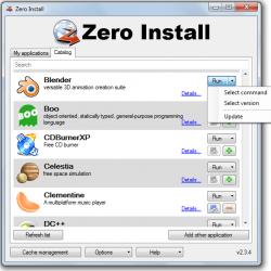 Zero Install Catalog
