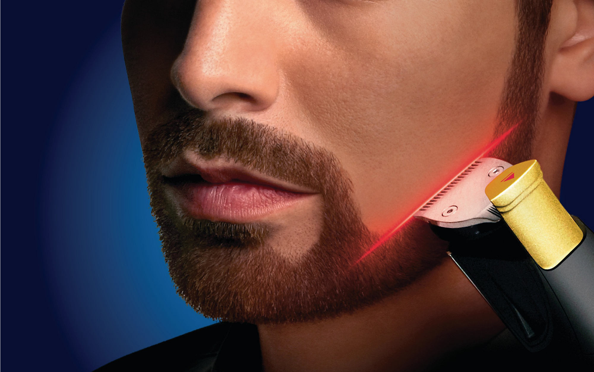 laser beard trimmer