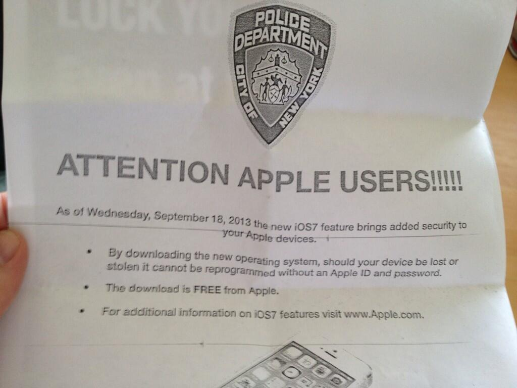 nypd apple
