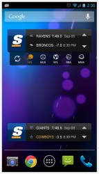 theScore widgets