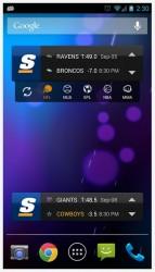 theScore widgets