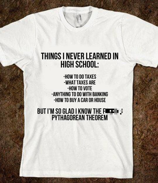 things_i_never_learned_in_school